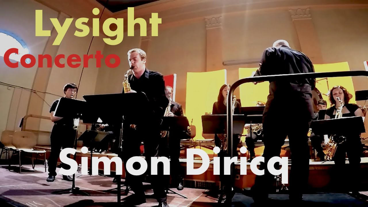 Michel Lysight – Concerto, Simon Diricq