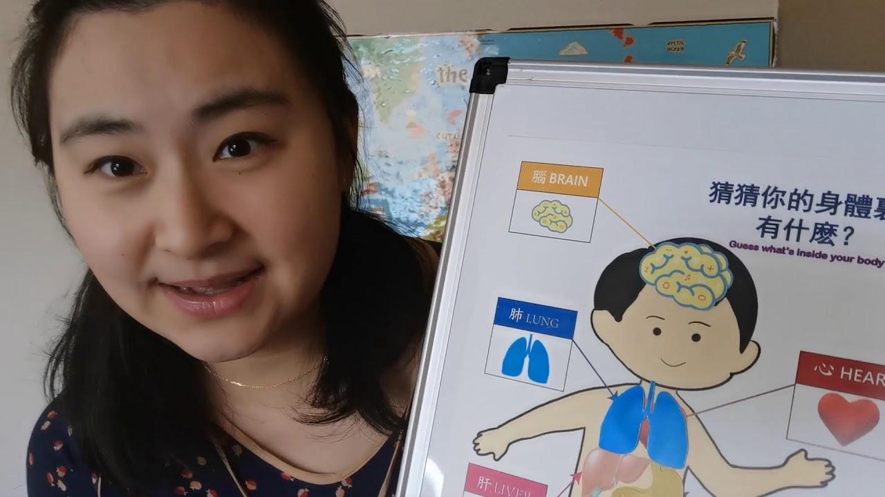 Mandarin Story time/中文故事會/Learn human organs in Chinese/學習中文人體器官/I Luv Chinese/我愛中文 - YouTube