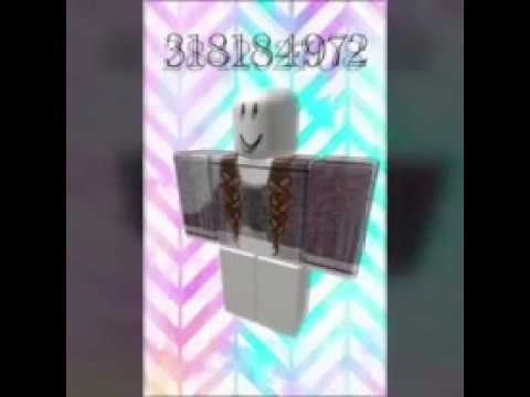 Some ROBLOX Girl Outfits And Codes - YouTube
