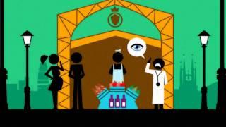 Animación Shangai Worl Expo 5/10: Dieta Mediterranea Vs FastFood