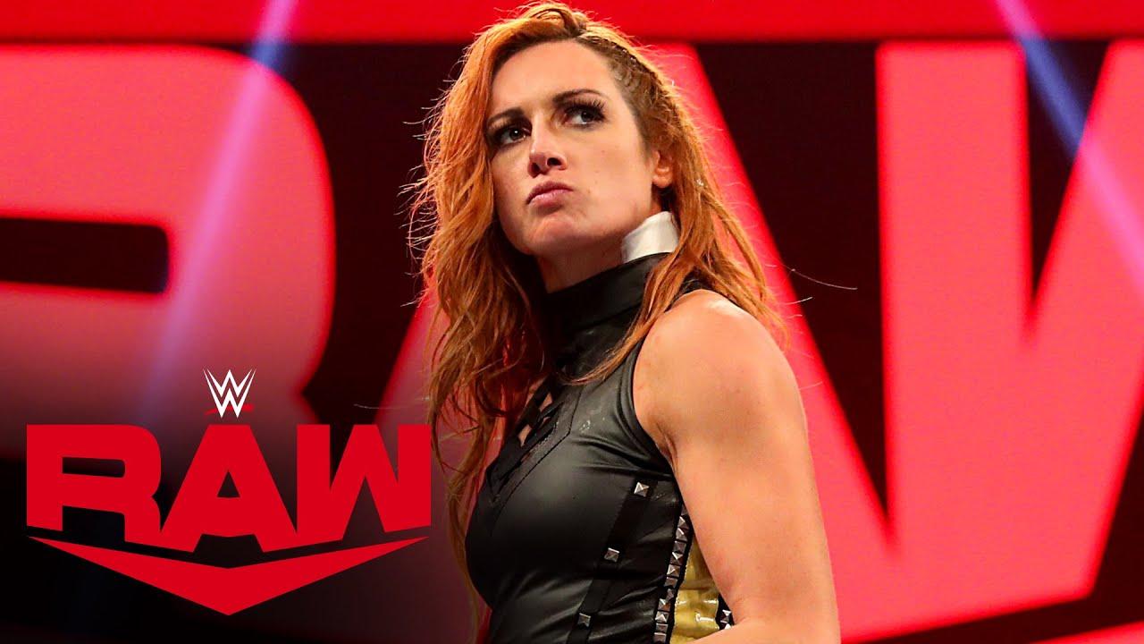 Becky Lynch wants a piece of Shayna Baszler after being bitten: Raw, Feb.  10, 2020 - YouTube