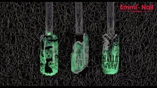 Emmi®-Nail - Glowgel - Halloween Nailart