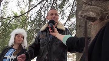 Liito-oravien vaalitentissä Tiera Laitinen (ps)