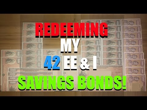Covering EE & I Bonds - Savings Bond Denominations I Own & Why I'm Redeeming My 42 Savings Bonds!