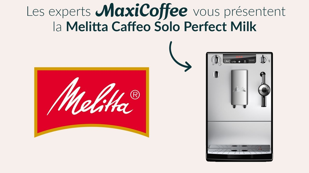 melitta caffeo solo perfectmilk machine caf automatique le test maxicoffee youtube. Black Bedroom Furniture Sets. Home Design Ideas