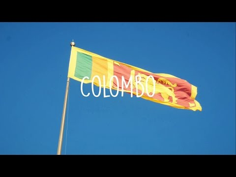 Colombo! Sri Lanka Adventure #1 [4K]