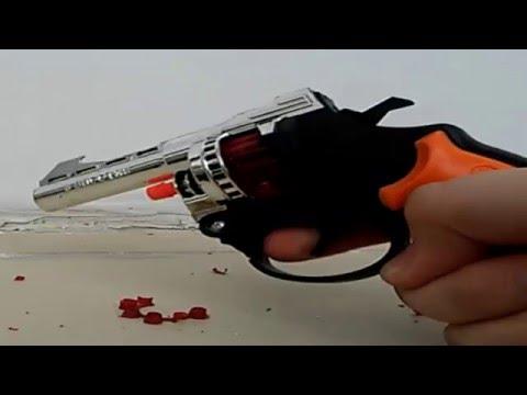 Револьвер на пистонах + ВЫСТРЕЛЫ