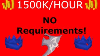 OSRS - Money Making Guide 1.5M/Hour NO requirements! (NEW) - Runescape 2007