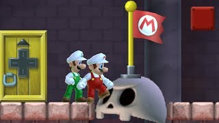 New Super Mario Bros. Wii Retro Mix - Walkthrough - #13