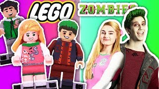 Download DIY 💖 ADDISON & ZED 🧟♂️ into LEGO Minifigures - Custom Lego ZOMBIES from Disney Channel Mp3 and Videos