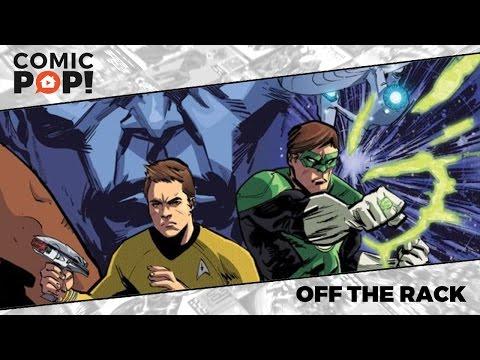 Star Trek / Green Lantern from IDW & DC Comics