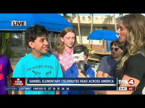 Read Across America Day with Fox 4 at the Sanibel School