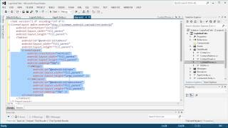Android App Creation with C# Tutorial | Login And Tabs