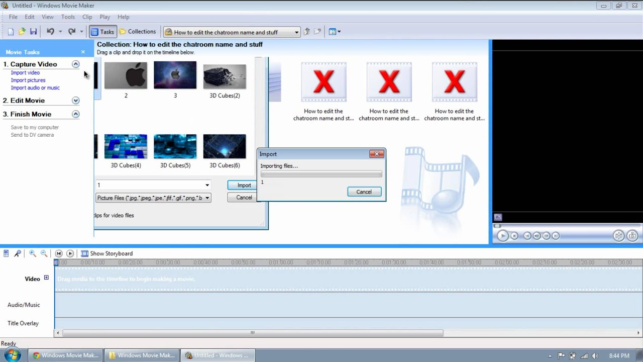 how to make videos hd in windows movie maker