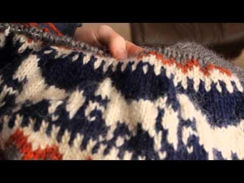 Islandpullover Teil 7: Großes Muster