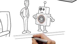 Web-Video-Produktion - Die schlaue Kleine Web-Unternehmen durch Cartoon-Media - Doodle-Video-Produktion