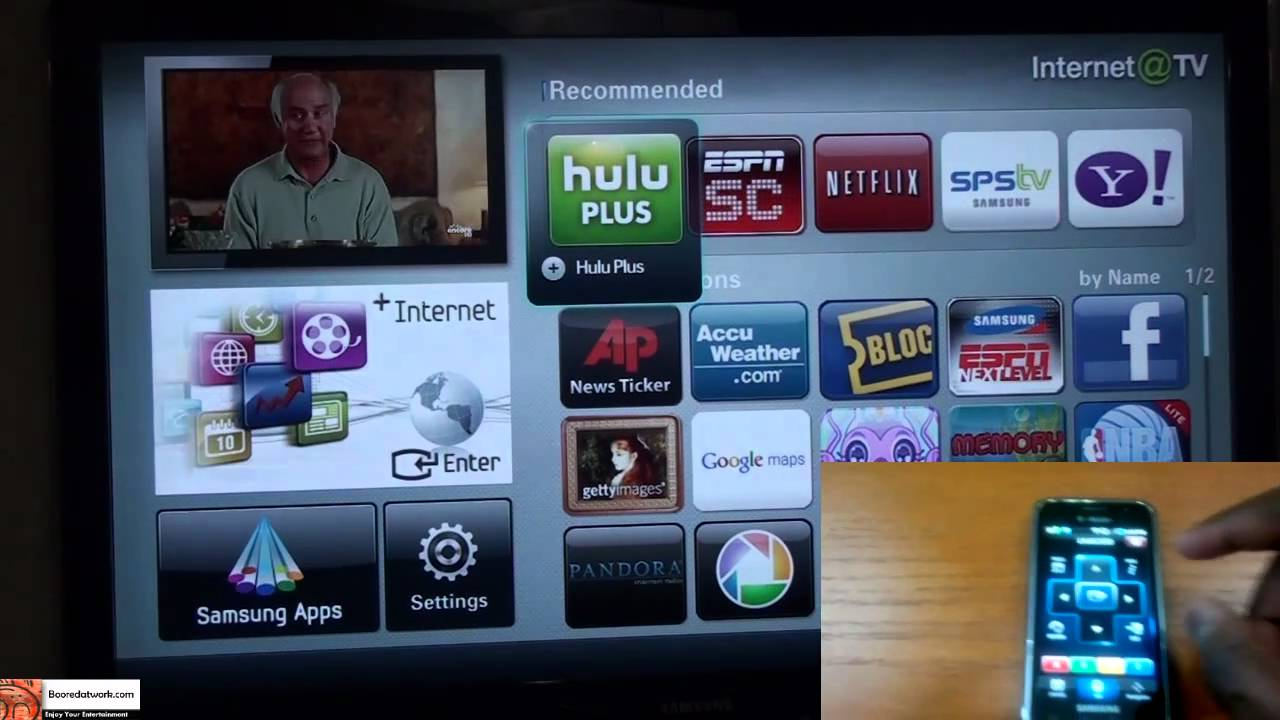 Samsung TV Remote App Demo on Android