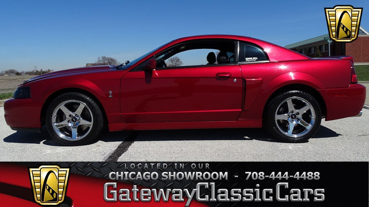 2004 Ford Mustang Svt Cobra Gateway Clic Cars Of Chicago