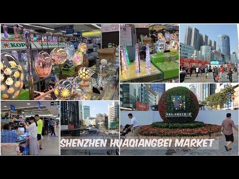 Shenzhen Electronics  market in Huaqiangbei  LEDs visit 2018