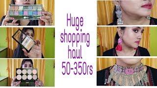 Huge affordable shopping haul # Ray and sahoo # makeup # jwellary