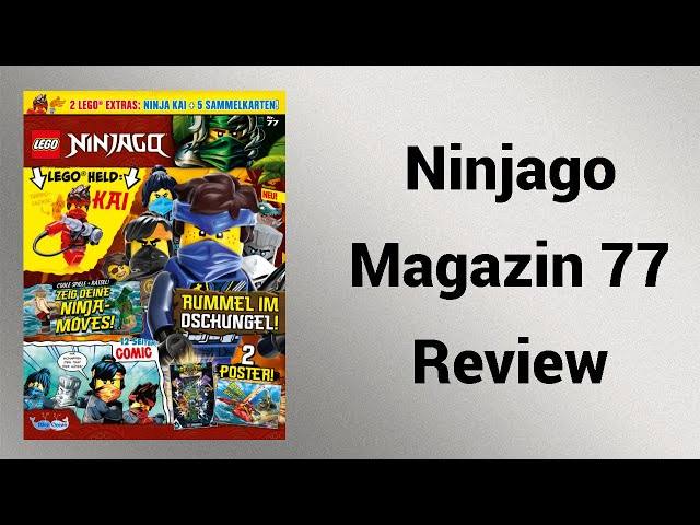 Kais heißer Flammenwerfer | Ninjago Magazin Nr. 77 | Rpfreund2014