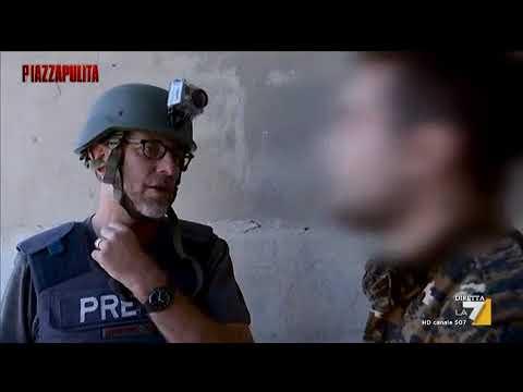 Piazzapulita (La7) - Nessuna Pietà, Reportage di guerra a Raqqa, 14 settembre 2017