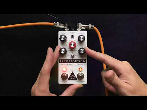 Introducing the TremStortion from Mattoverse Electronics