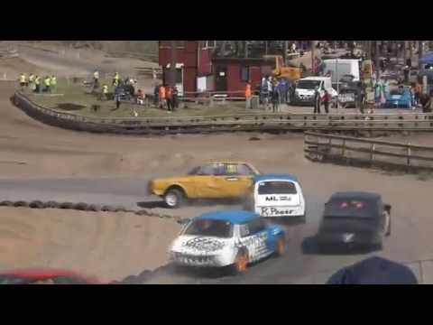 Semesterracet 2015 Vimmerby dag 1 highlights and crashes