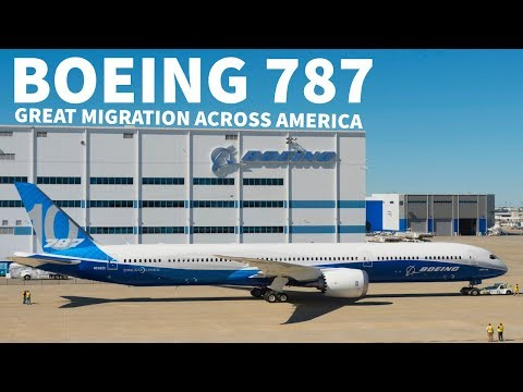 Boeing 787s Flee due to Hurricane Florence