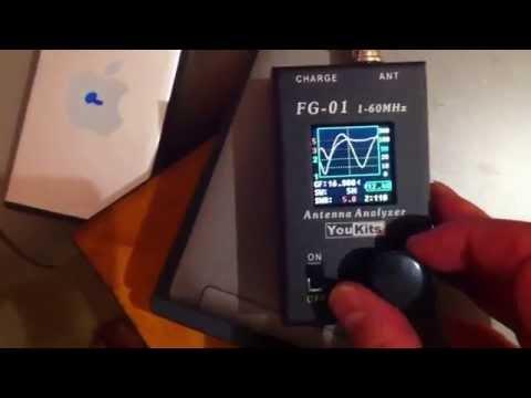 The amazing FG-01 Antenna Analyzer!