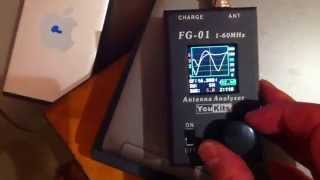 The amazing FG-01 Antenna Analyzer!