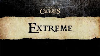 Extreme Survival Course