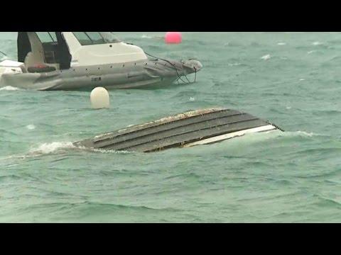 The Wrath of Hurricane Gonzalo's Direct Hit on Bermuda
