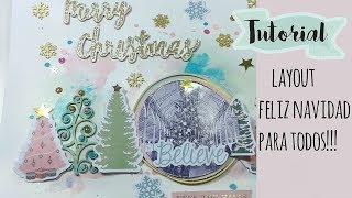 TUTORIAL de Layout feliz navidad, KORA projects