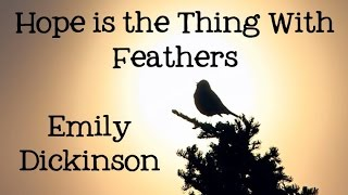 Emily Dickinson:  Hope is the Thing with Feathers - Poems for Kids, FreeSchool