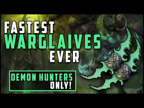 Fastest Way To Get Warglaive's Of Azzinoth! (Demon Hunter Only)