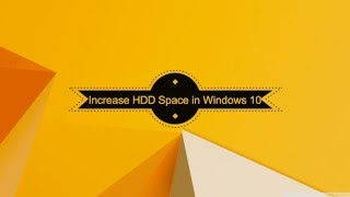 How to Increase the Size of Hard Disk up to 2TB in Windows 10?