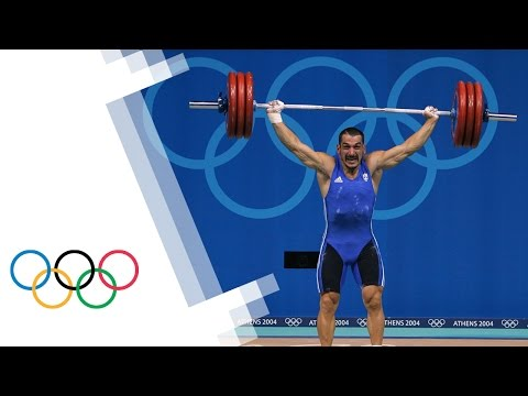 Pyrros Dimas relives his Olympic Weightlifting career
