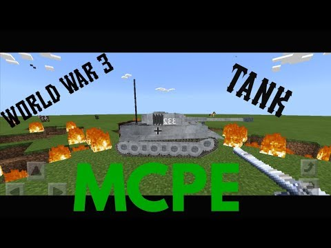 HOW TO MAKE WORKING TANK IN MINECRAFT!! OMG !!!