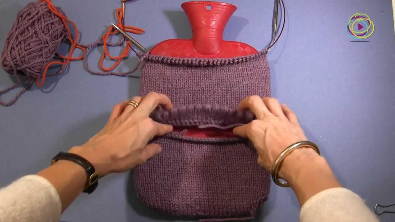 Projekt Stricken Einer Wärmflaschenhülle Teil 4 Abnahme Und