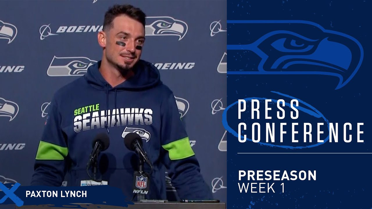 Seahawks Quarterback Paxton Lynch Postgame Press Conference vs Broncos