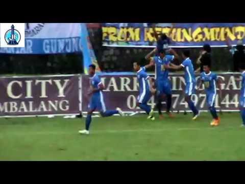 Video (highlight) ISC B 2016 PSIS Semarang vs Persekap 9 Oktober 2016