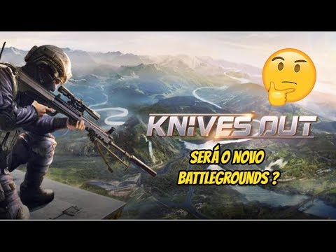 Knives Out O Novo Playerunknown's Battlegrounds ?