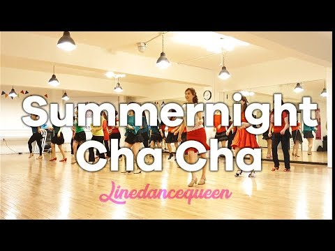 Summer Night Cha Cha Line Dance(Beginner)  Ir Torre Demo