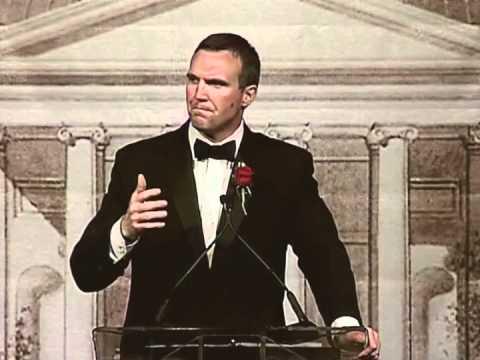 2012 Alumni Award Speech - Matt Stinchcomb