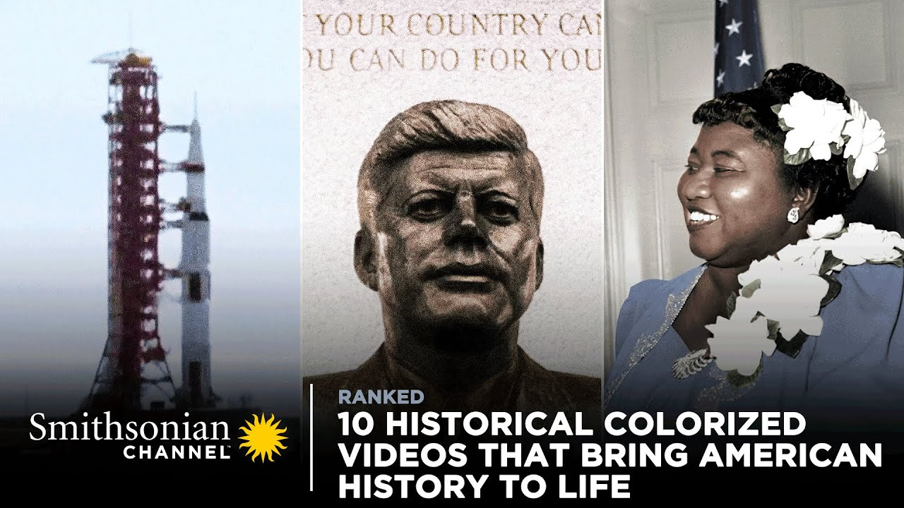 Download 10 Colorized Videos That Bring American History to Life 🏛️ Smithsonian Channel