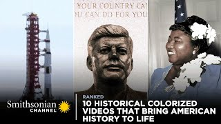 10 Colorized Videos That Bring American History to Life  Smithsonian Channel