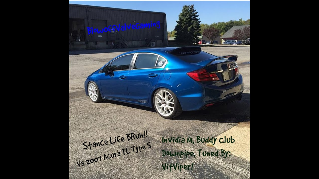 2015 Honda Civic Si VS 2007 Acura TL Type S: Dig Race & 40