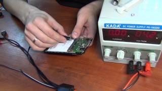 Lenovo S650 не включается после воды. ;)(В данном видео рассмотрим метод диагностики не включающегося телефона после попадания влаги. ;), 2015-11-04T20:04:21.000Z)