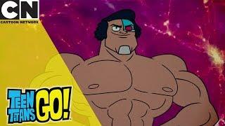 Teen Titans Go!   Cyborg Gets Ripped   Cartoon Network UK 🇬🇧